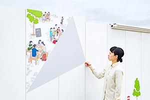 MAKUHARI BAY-PARK 工事用仮囲い