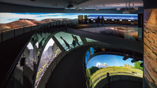 静岡県富⼠⼭世界遺産センター