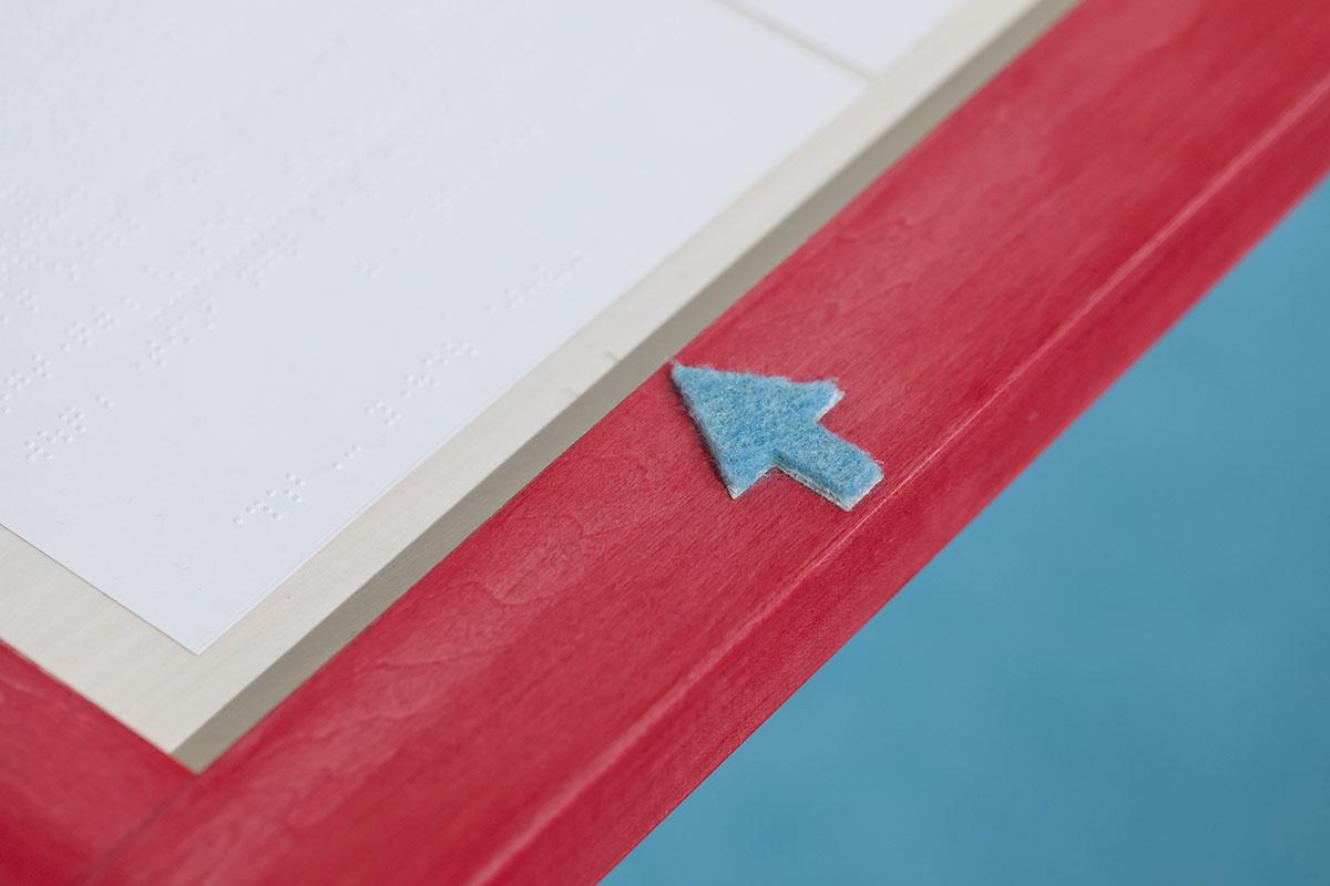 「フランスの、さわってたのしむ絵本読書室」展