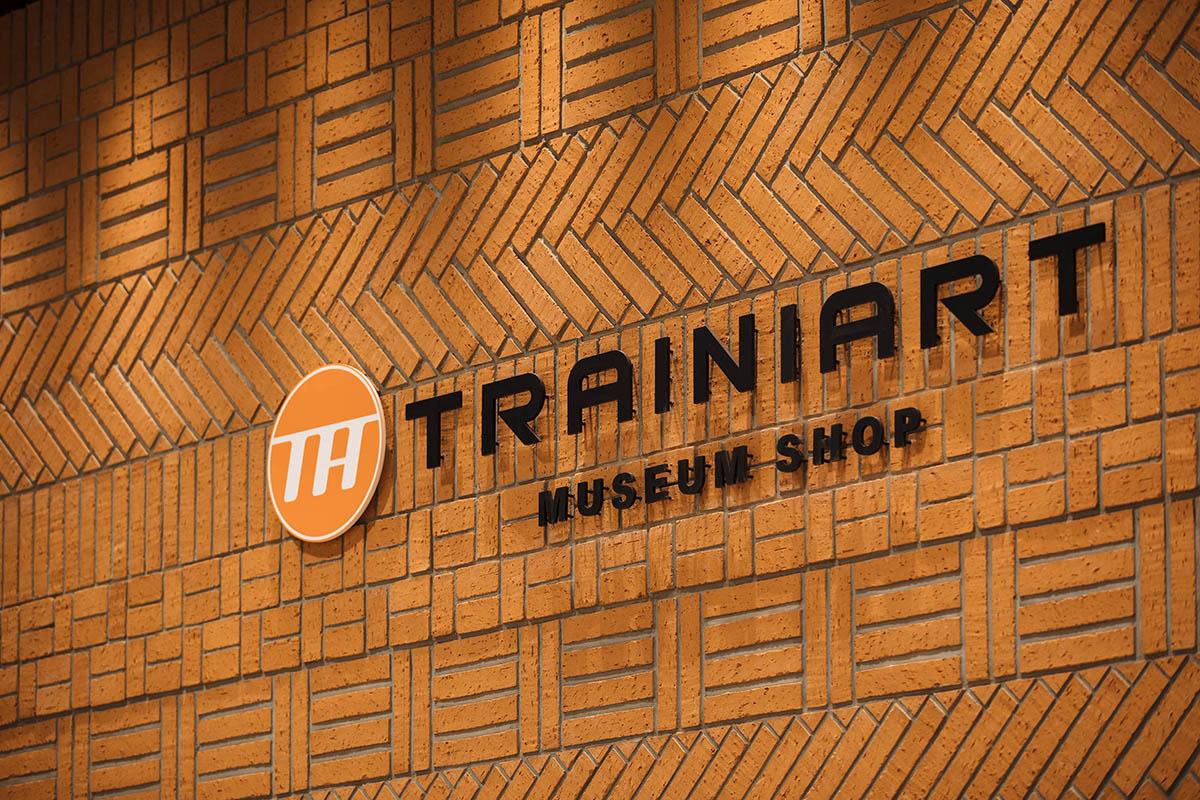 ミュージアムショップ TRAINIART 鉄道博物館店