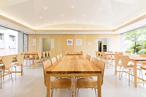 河内長野市役所1階食堂 オンキッチン