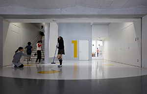 横浜市立子安小学校 サイン計画