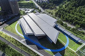 デサントR&Dセンター サイン計画